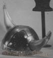1030 - Helmet: Viking (Round)