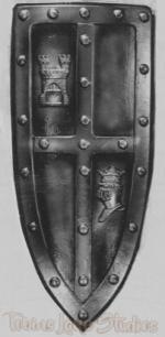 "1126 - Medieval Shield (18"" x 40"")"