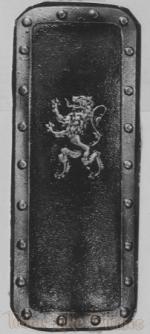 "1130 - Medieval Shield (17"" x 43"")"