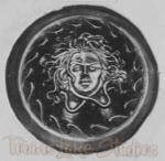 "1133 - Greek Shield (19"" Diameter)"