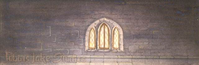 126 - Stone Wall with Window Drop