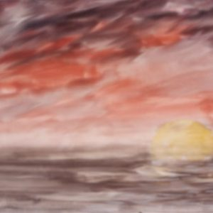 140 - Red Sunset Sky