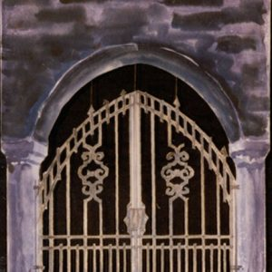 206 - Wrought Iron Grill or Gate