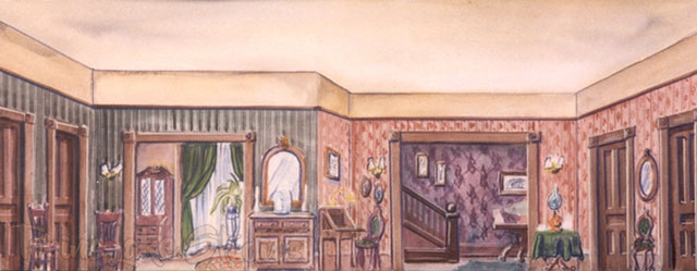 217 - Turn of Century Living Room