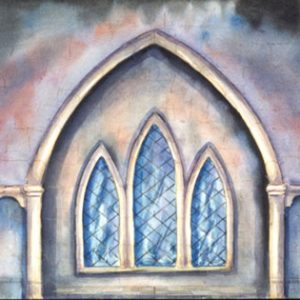 226 - Stone Wall w/Window