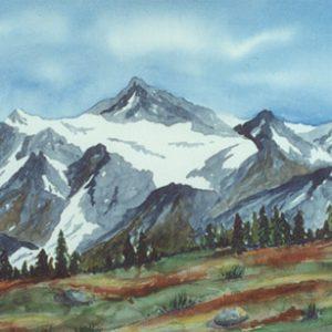 248 - Mountain Drop w/ Snow