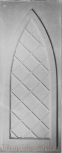 2593 - Diamond Pane Lancet Window