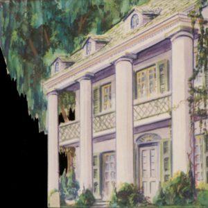 395 -  Southern Mansion Tab