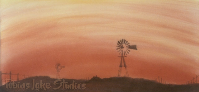 544 - Ranch Drop with Windmill
