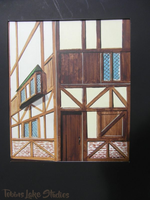 74 - Half Timbered Building Tabs