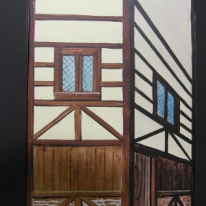 75 - Half Timbered Building Tabs