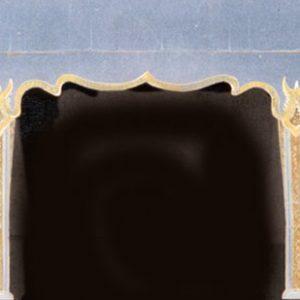 76B - Oriental Cut-Plush Portal