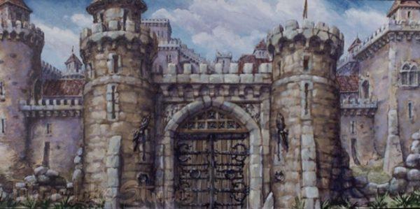 822 - Castle Exterior