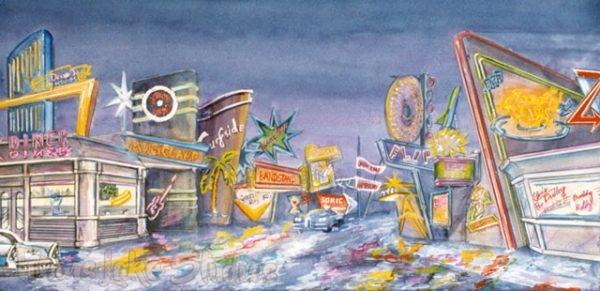 823 - Neon Street Scene