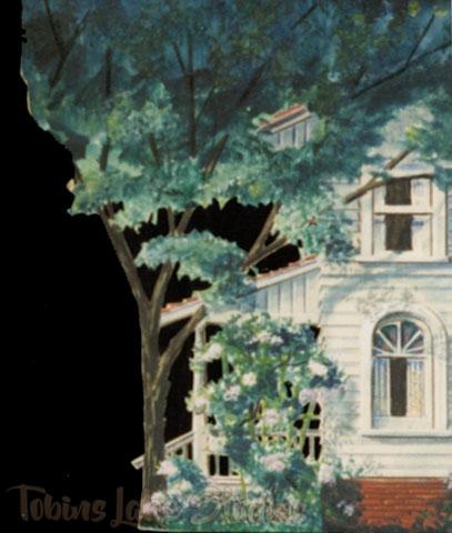 95 - White Clapboard House Tab (S. L.)