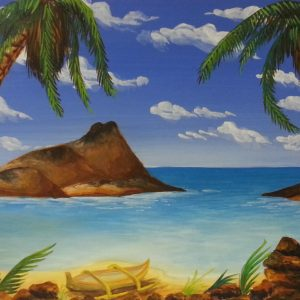 50 - Tropical Beach Scene