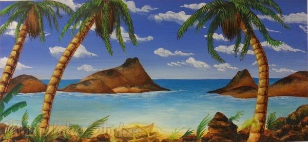50 - Tropical Beach Scene