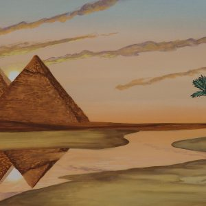 61 - Pyramid Backdrop