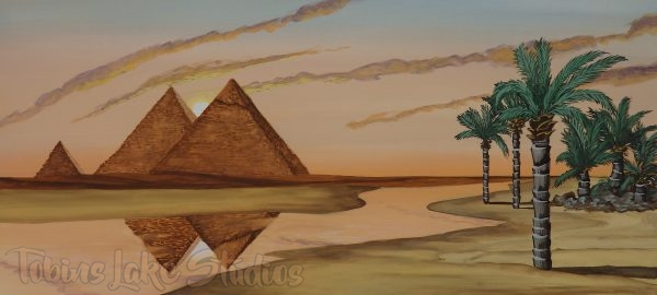 61 - Pyramid Backdrop