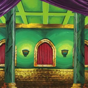 813 - Emerald City Throne Room