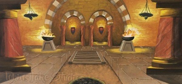 225 - Temple Interior